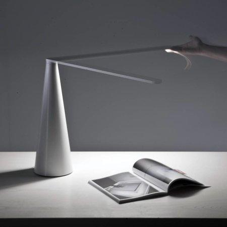 Martinelli Luce LED Table lamp ELICA - big - WHITE