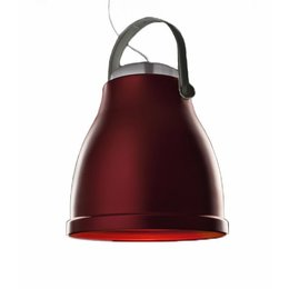 Antonangeli Hanging Lamp - Big Bell - Red