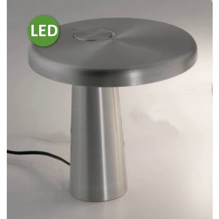 Martinelli Luce LED Table Lamp HOOP - ∅ 21,5 H 21 - SATIN
