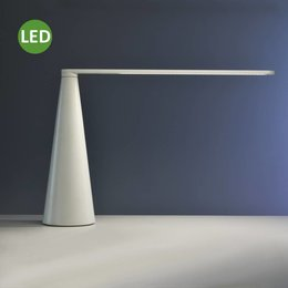 Martinelli Luce ELICA - groot - LED Tafellamp - Wit