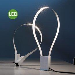 Martinelli Luce FLUIDA - LED Tafellamp - Wit