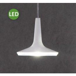 Oluce Kin 478 - LED Hanglamp - Wit