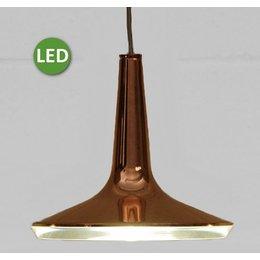 Oluce Kin 478 - LED Hanglamp - Goud kleurig