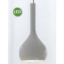 Oluce Lys 434/L - LED Hanglamp - Wit