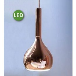 Oluce LED Hanging Lamp - Lys 434 / L - Glossy Copper