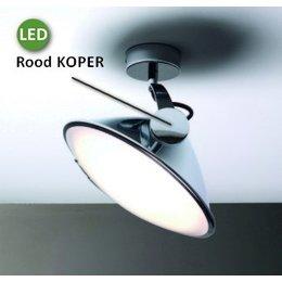 Antonangeli Armonica - LED Plafondlamp - Bruin