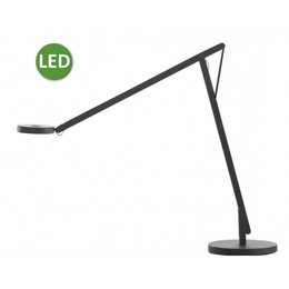 Rotaliana LED Desk lamp - String T1 - Matt black with black cord