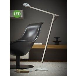 Rotaliana LED Floor Lamp - String F1 - 10.5 - Matt white with black cord