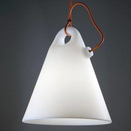Martinelli Luce Hanging Lamp - Trilly - white