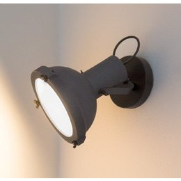 Nemo Wall lamp - Projecteur 165 Wall - Grey