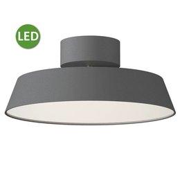 Nordlux Alba - LED Plafondlamp - Grijs