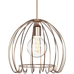 Nordlux Cage - Hanglamp - Bruin