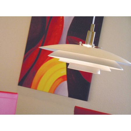 Nordlux hanging lamp Brittany - White