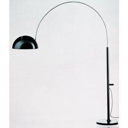 Oluce Coupe 3320/R - Staande lamp - Zwart