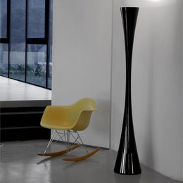 Martinelli Luce Biconica Floor Lamp - Black - LED