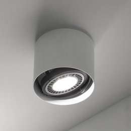 Martinelli Luce Ceiling lamp EYE single - White