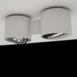 Martinelli Luce EYE dubbel - Plafondlamp - Wit