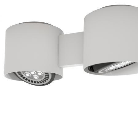Martinelli Luce Ceiling lamp EYE double - White