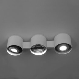 Martinelli Luce Ceiling lamp EYE triple - White