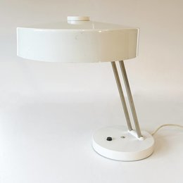 Vintage SIS tafellamp - WIT