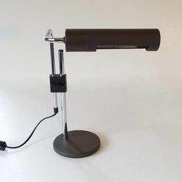 Vintage HALA leeslamp - Bruin