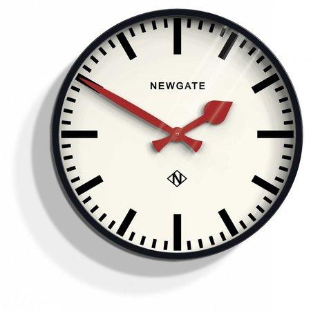 Newgate Putney - wandklok - Zwart
