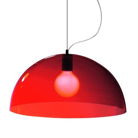 Martinelli Luce Hanging Lamp BUBBLES - RED