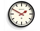 Newgate Luggage Wall Clock - Black
