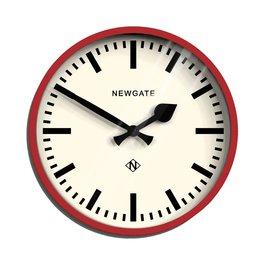 Newgate Luggage - wandklok - Rood