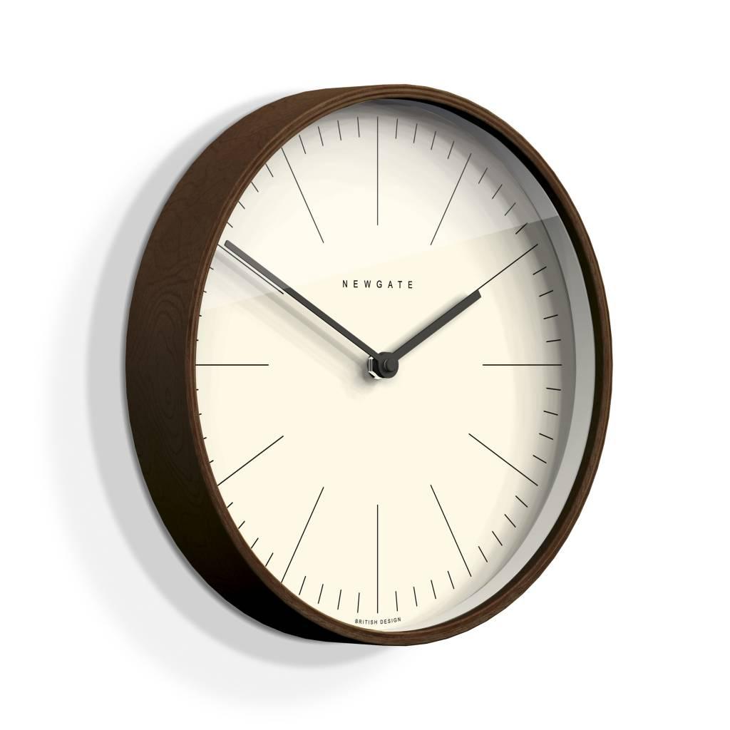 Newgate, putney wall clock, zwart.   duurk