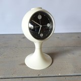 Vintage Blessing - Space age alarm clock - white