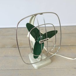 Vintage Erres - Tafelventilator - GRIJS
