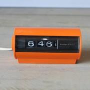 Vintage Sankyo - jaren 70 Klok - digitaal - oranje
