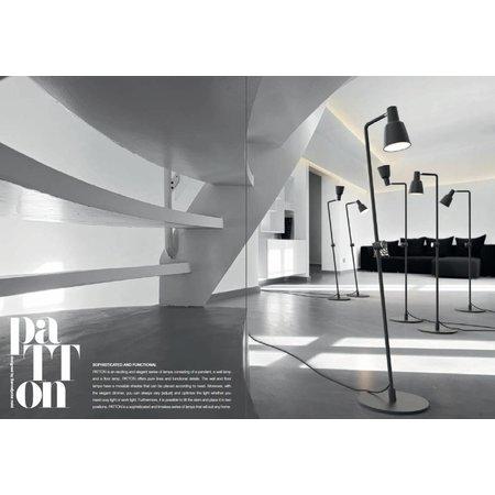 Nordlux Patton - Staande lamp - Zwart