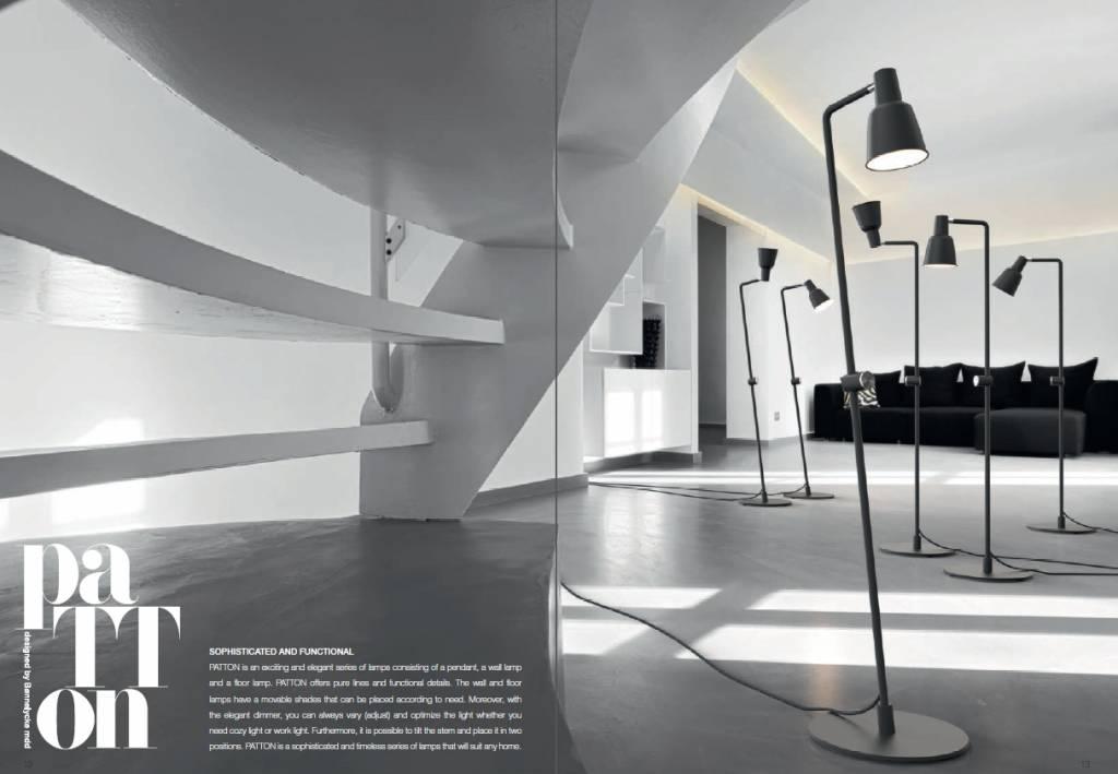 Nordlux patton staande lamp wit duurk