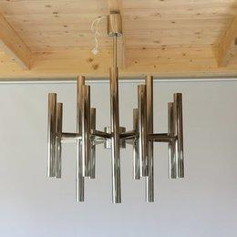 Vintage Sciolari lamp - Chrome