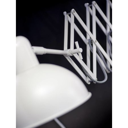 It's about RoMi Aberdeen - Wall Lamp - White