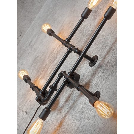 It's about RoMi Nashville - Wall Lamp - Black