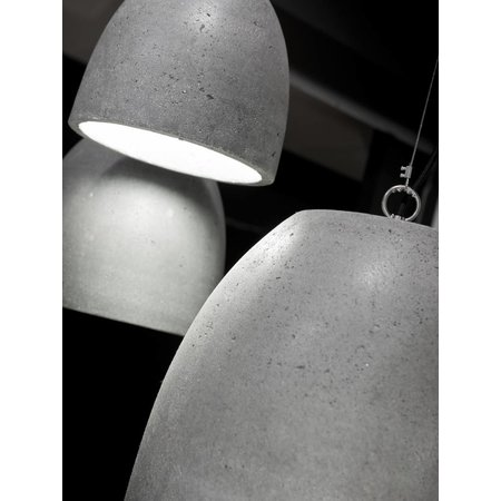 It's about RoMi Malaga - Hanging Lamp - L - Cement