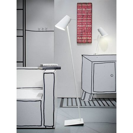 It's about RoMi Cardiff - Floor Lamp - White