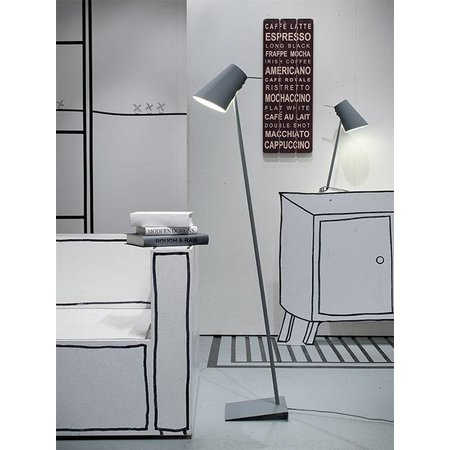 It's about RoMi Cardiff - Floor Lamp - Grey