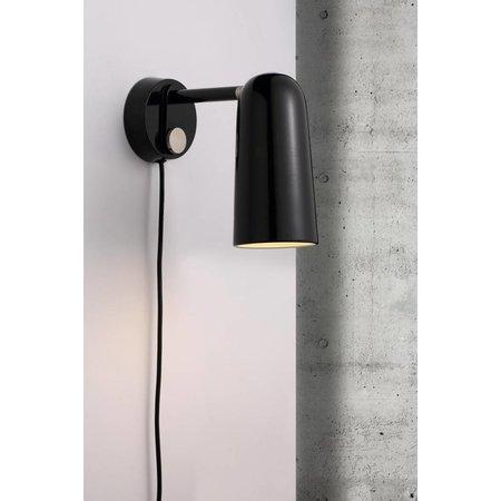 Nordlux Tippy - Wandlamp - zwart