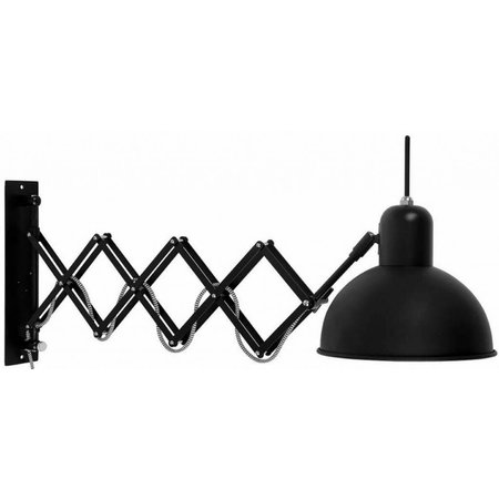 It's about RoMi Aberdeen - Wall Lamp - Black