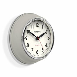 Newgate The Cookhouse - Wall Clock - Grey