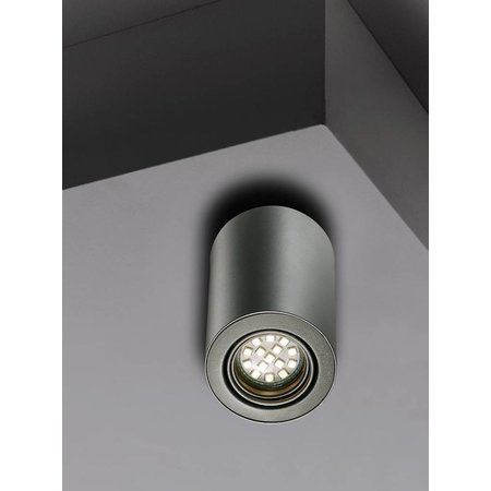 Nordlux Nota - Plafond spot - Grijs