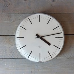 Vintage TN - School Clock - White - Copy