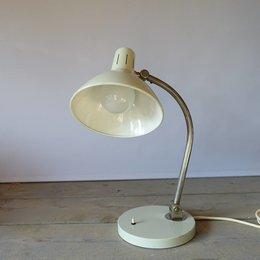 Vintage HALA - bureaulamp - Creme