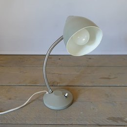 Vintage HALA - bureaulamp - Grijs