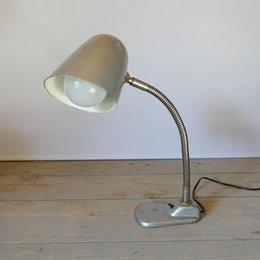Vintage Bureaulamp - Grijs