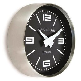 Lacelles Kitchen clock - Chrome